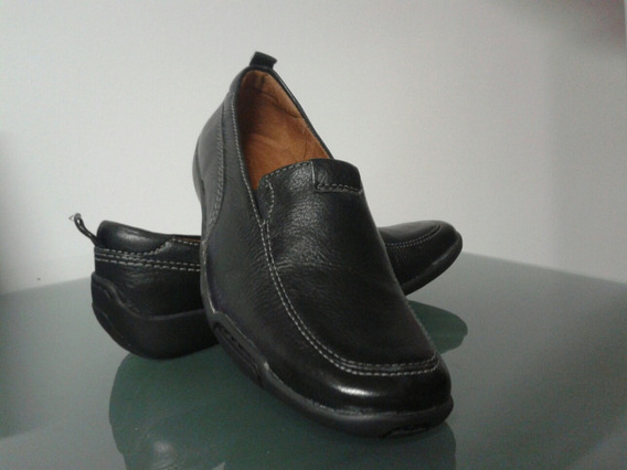 Zapato Negro Unisex Mocasin Confortable