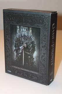 Game Of Thrones - Box 5 Dvds - 1 Temporada Completa Original