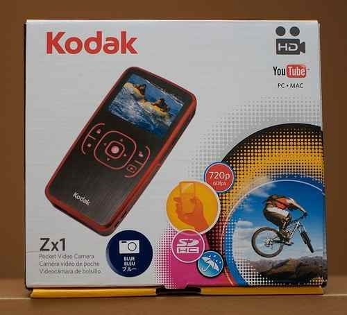 Camera Kodak Filmadora Zx-1 720p