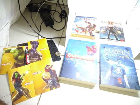Lote Omelete Box Com 4 Livros E 4 Cartões Originais Perfeito