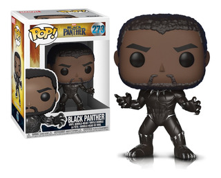 Figura Muñeco Funko Pop Marvel Black Panther 273 Orig