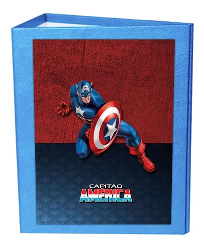 Álbum De Fotografia Dos Herois Marvel + 01 Brinde Especial