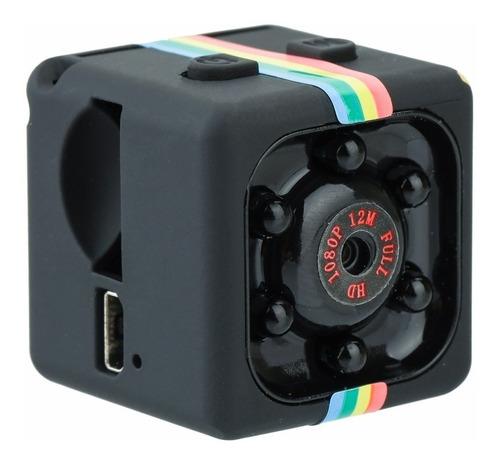 Mini Câmera Filmadora Espiã Sq11 Full Hd 1080p