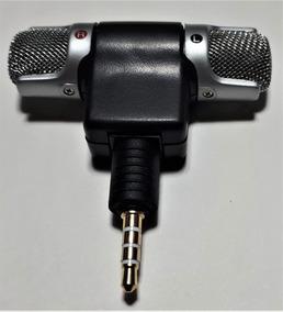 Microfone Estéreo Gravação Externa Celular Android Samsung