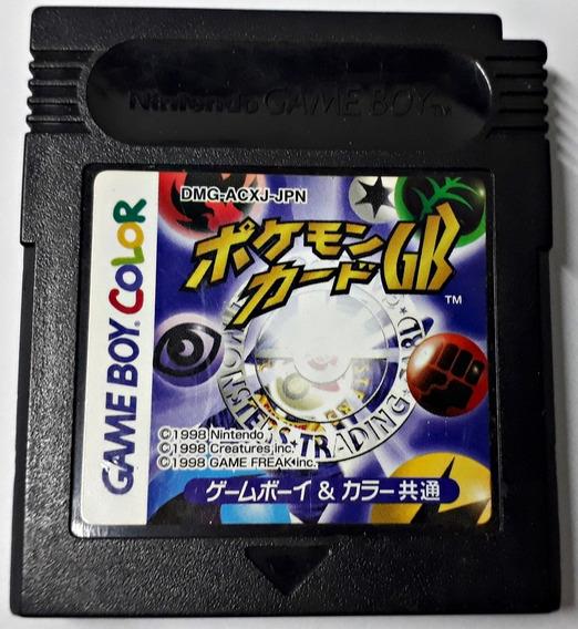 Jogo Pokemon Trading Card Game Gameboy Color Original Fita