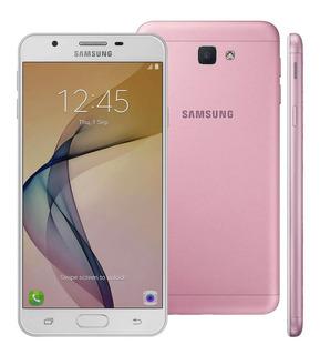 Celular Galaxy J7 Prime G610m Rosa 32gb 4g Tela 5.5 Vitrine
