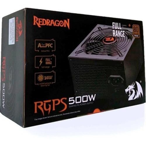 Fonte Redragon 500w Rgps500w 80 Plus Bronze