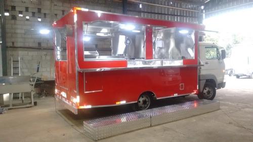 Food Truck Treilher Caminhão 3/4 2 (montagem Sem O Veículo)