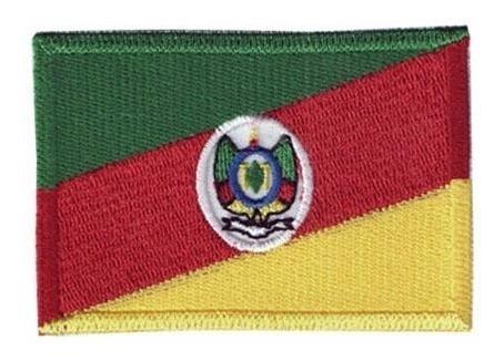 Bordado Termocolante Bandeira Rio Grande Do Sul