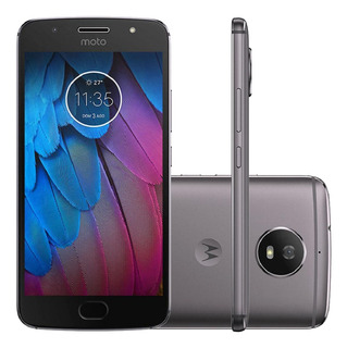 Motorola Moto G5s Xt1792 32/2gb Dual 16mp Cinza Vitrine 1