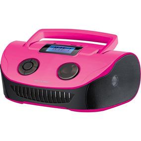 Som Portátil Multilaser Boombox Sp184 Rádio Fm Auxiliar,usb,