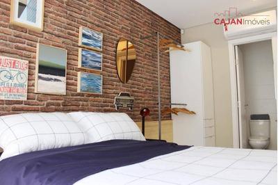Apartamento Com 1 Dormitório E 1 Vaga De Garagem No Bairro Bom Fim - Ap4003