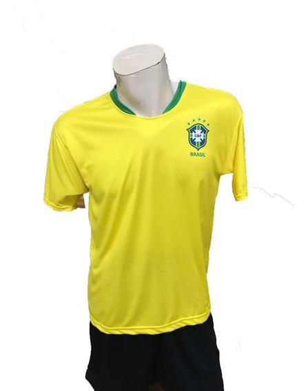 Playera Brasil Marca Pemol 2019