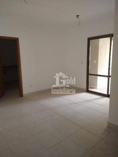 Apartamento Com 3 Dormitórios Para Alugar, 118 M² Por R$ 1.900/mês - Jardim Botânico - Ribeirão Preto/sp - Ap3379