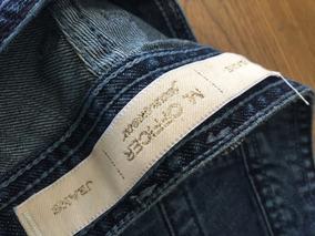 Calça Jeans Masculina M. Officer (detalhe Em Couro)