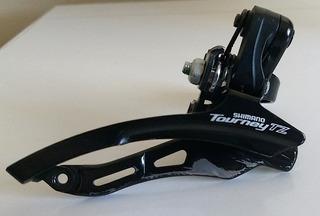 Cambio Dianteiro Shimano Tourney Tz500 - Envios Às Quartas