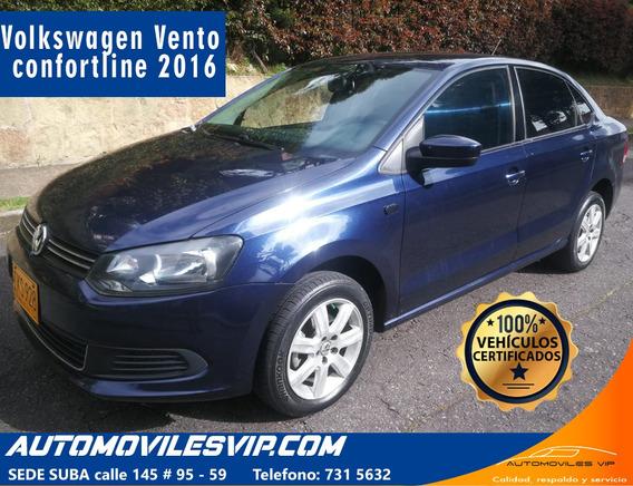 Volkswagen Vento Motor 1.6 2016 Azul 4 Puertas