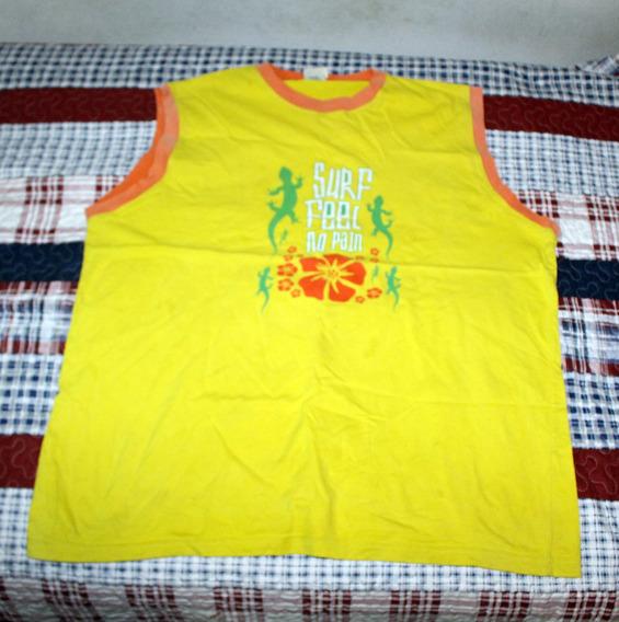 Musculosa 725 Amarilla (talle Grande)