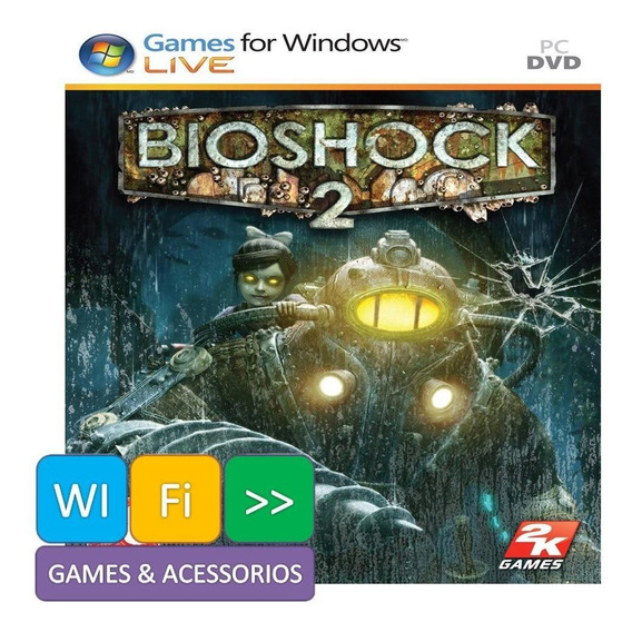 Bioshock 2 Jogo De Pc Mídia Física