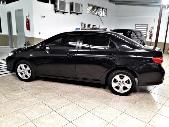 Corolla Xei 1.8 Automático Ano 2010 Placa I Couro Som