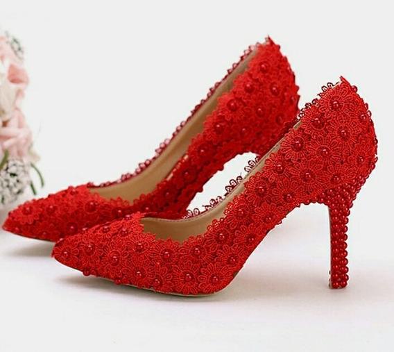 Sapato Noiva E Debutante Personalizado De Pérolas Exclusivo!