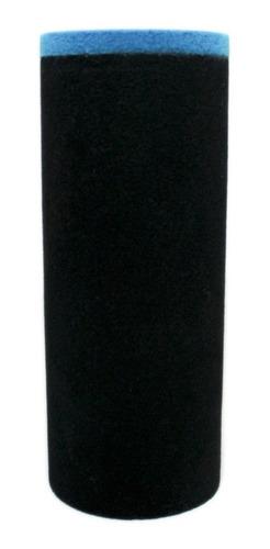 Capuchón Paraviento De Micrófono Cilíndrico Bicolor 20x8cm