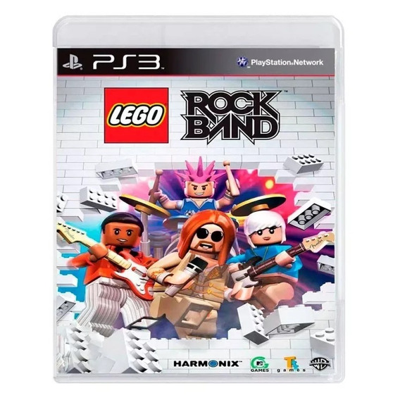 Lego: Rock Band Ps3 - Midia Física