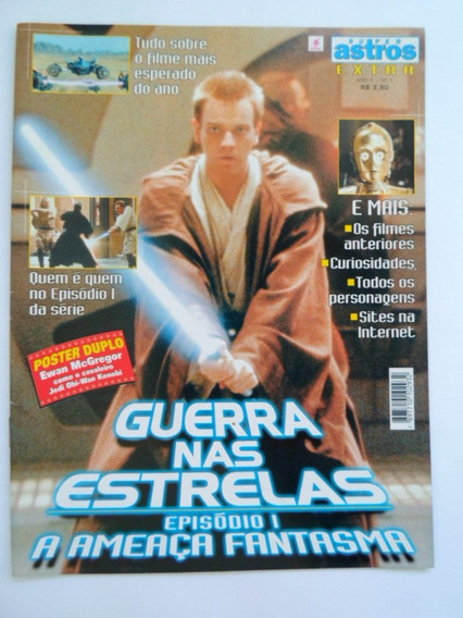 Revista Super Astros 01 Star Wars Episódio 1