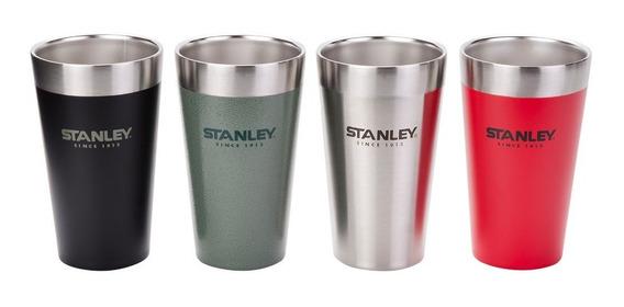 Set De 4 Vasos Termicos Stanley Apilables Pintas De 473ml
