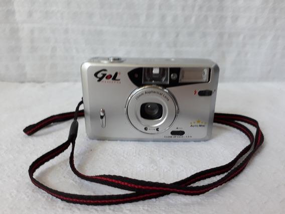 Máquina Câmera Fotográfica Gol Photo Antiga Cod 2880