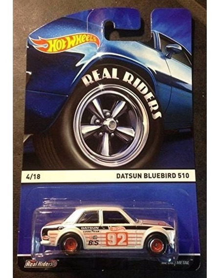 Hot Wheels Datsun Bluebird 510 Real Riders Pneus De Borracha