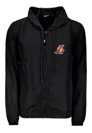 Jaqueta Nba Los Angeles Lakers Resicolor Preta
