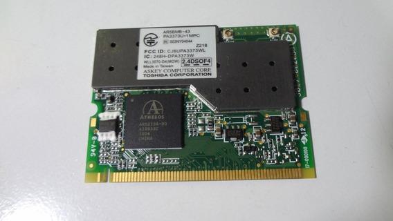 Placa Wireless Do Notebook Toshiba Satellite A60