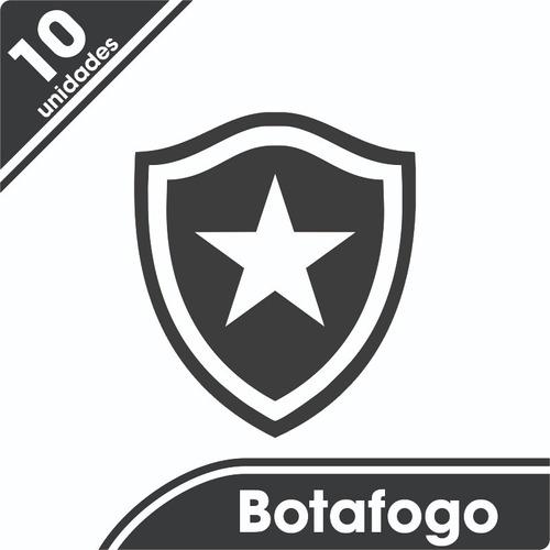Kit 10 Adesivos Botafogo