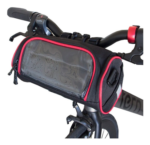 Bolso Delantero Manubrio Para Bicicleta Porta Celular Incluy