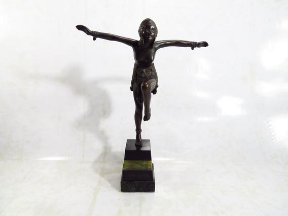 Escultura Bronze Bailarina Original D.h. Chiparus Dec 20/30