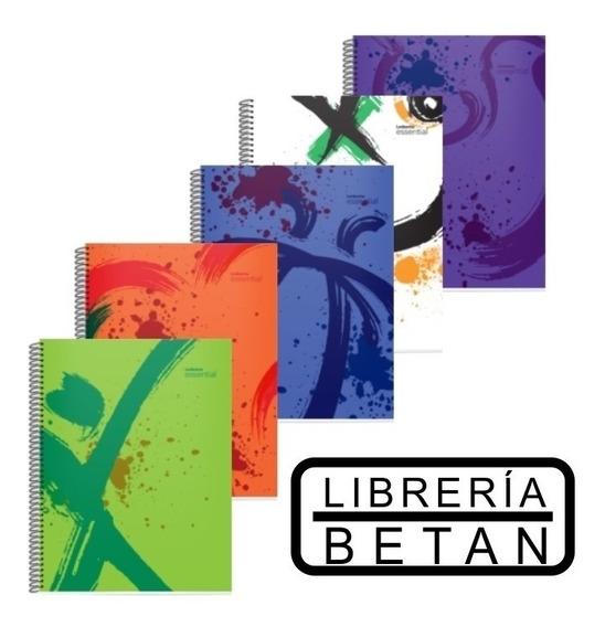Cuaderno Essential Universitario X 84 Hojas - Pack Por 3
