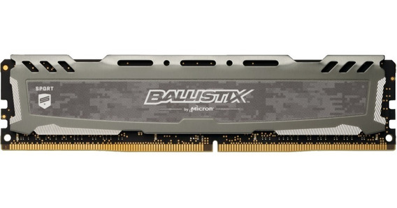 Memoria Crucial Ballistix 16gb 2666 Mhz Ddr4 Gris Mexx 4