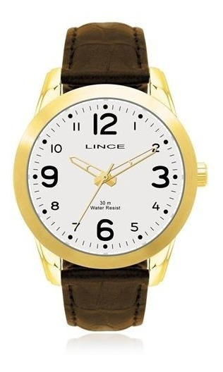 Relógio Lice De Couro Mrc4061 R2mx