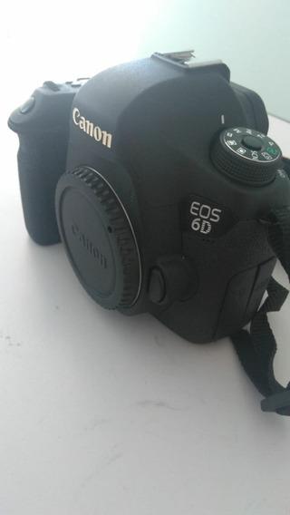 Camera Canon 6d Com 44327 Cliques (usada)