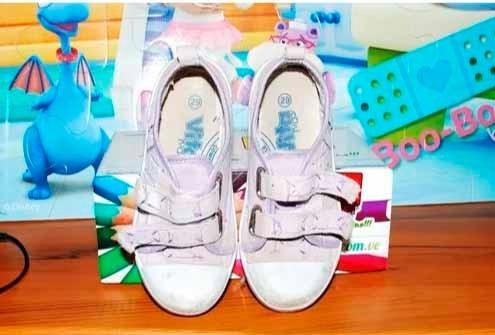 Zapatos De Tela Vita Kids Niña (vendo O Cambio)