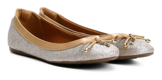 Sapatilha Santa Lolla Glitter Champagne - 0245.08bb