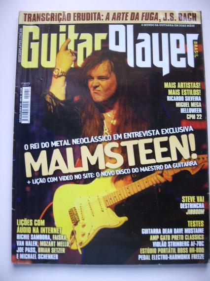 Revista Guitar Player - Ano 16 Nº 182 - Malmsteen!