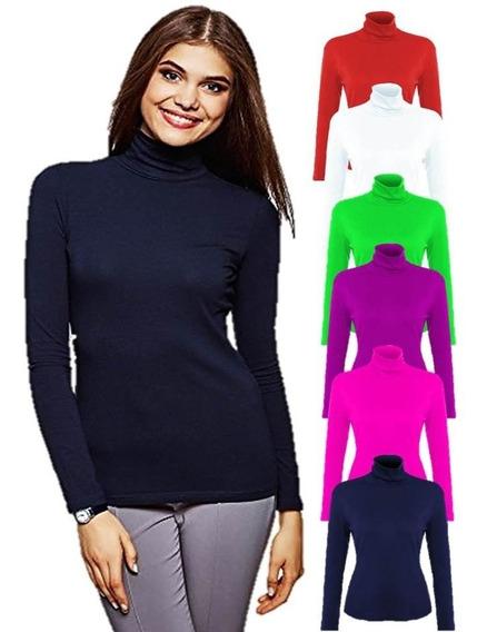 Suéter Cuello Tortuga, Buzo O Alto Para Damas En Jersey