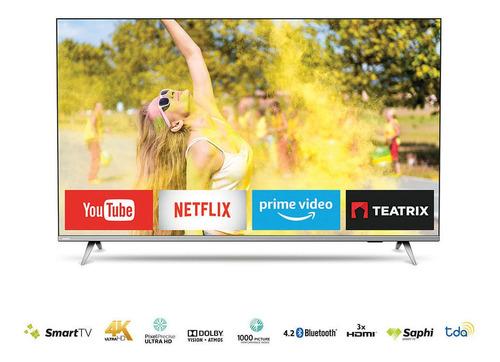 Imagen 1 de 3 de Smart Tv 55  4k Philips 55pud6654/77