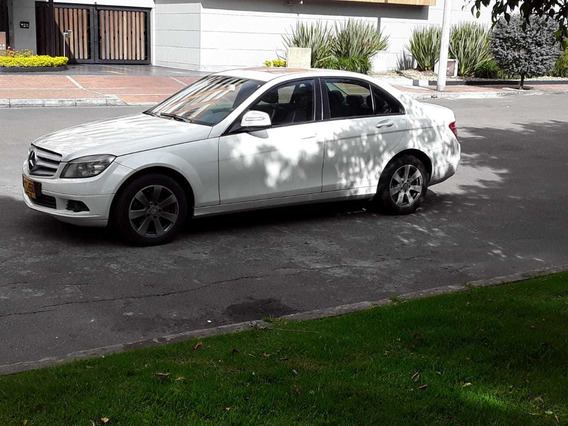 Mercedes Benz C200 Kompressor - Modelo 2008, 1.800cc At !!