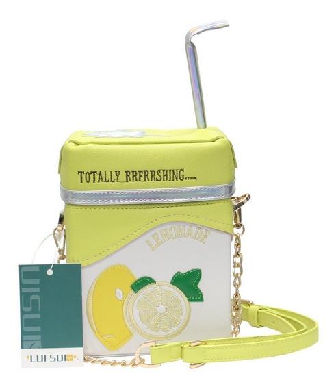 Cartera Milk Box Lui Sui Original Lemonade - Strawberry