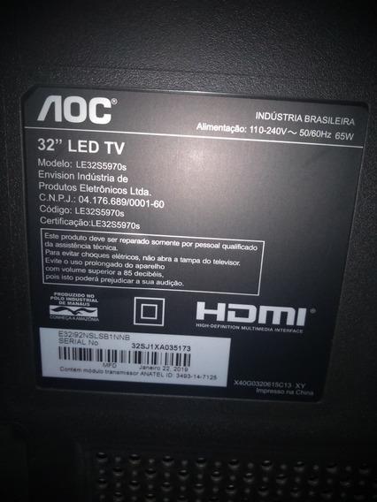 Peças De Tv Smart 32 Aoc Modelo Le32s5970s