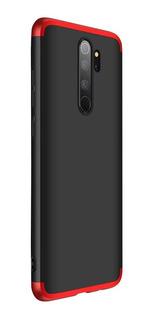 Funda 360 Luxury Xiaomi Redmi Note 8 Pro + Vidrio + Envio