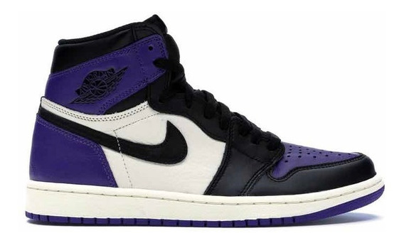 Sneakers Original Jordan 1 Retro High Court Purple Morados